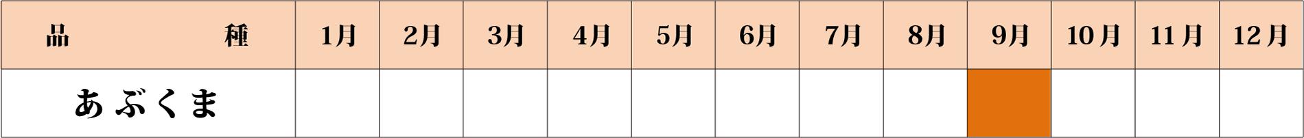 あぶくまカレンダー