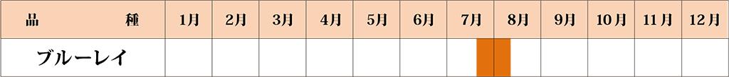 ブルーレイ  カレンダー