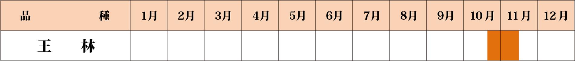 王林カレンダー