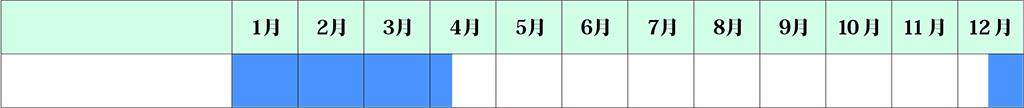 ユキヤナギカレンダー